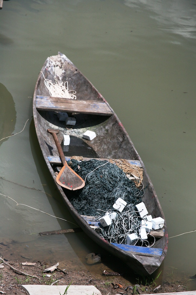 лодка краснокожих